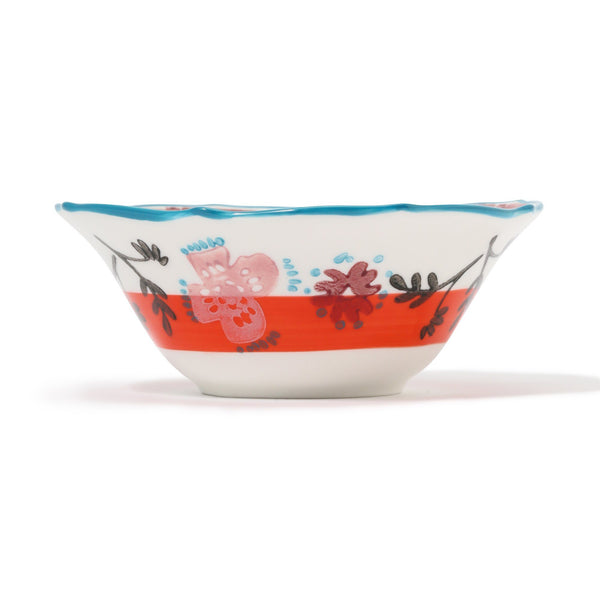 CARINA BOWL Orange x Light Blue