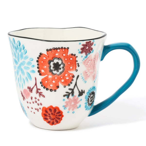 CARINA MUG Orange x Light Blue