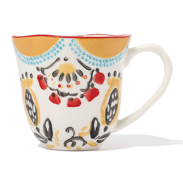 CARINA MUG Yellow x Red