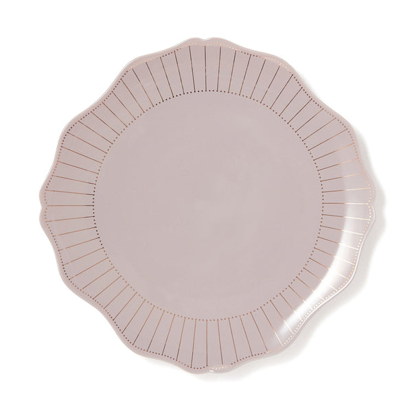 RAFFINE PLATE Medium Light Gray