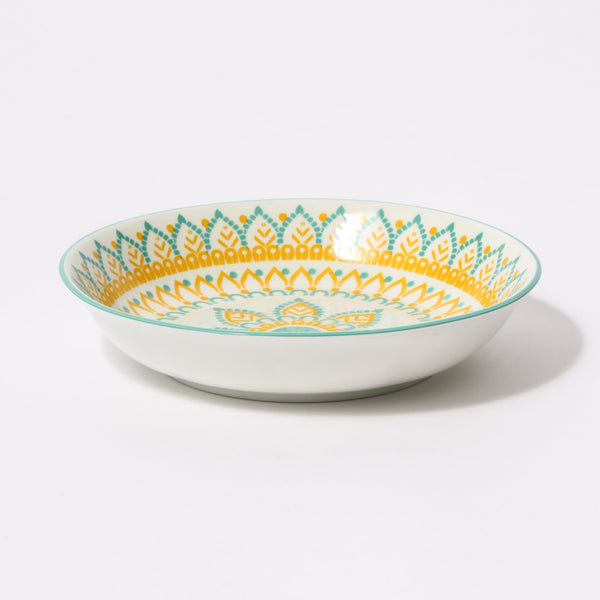 IROIRO20SUMMER DEEP PLATE Yellow
