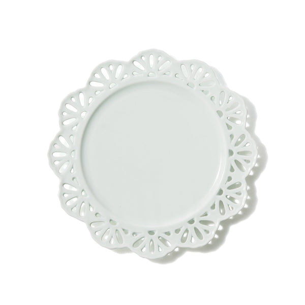 PANIER PLATE LACE Small MINT