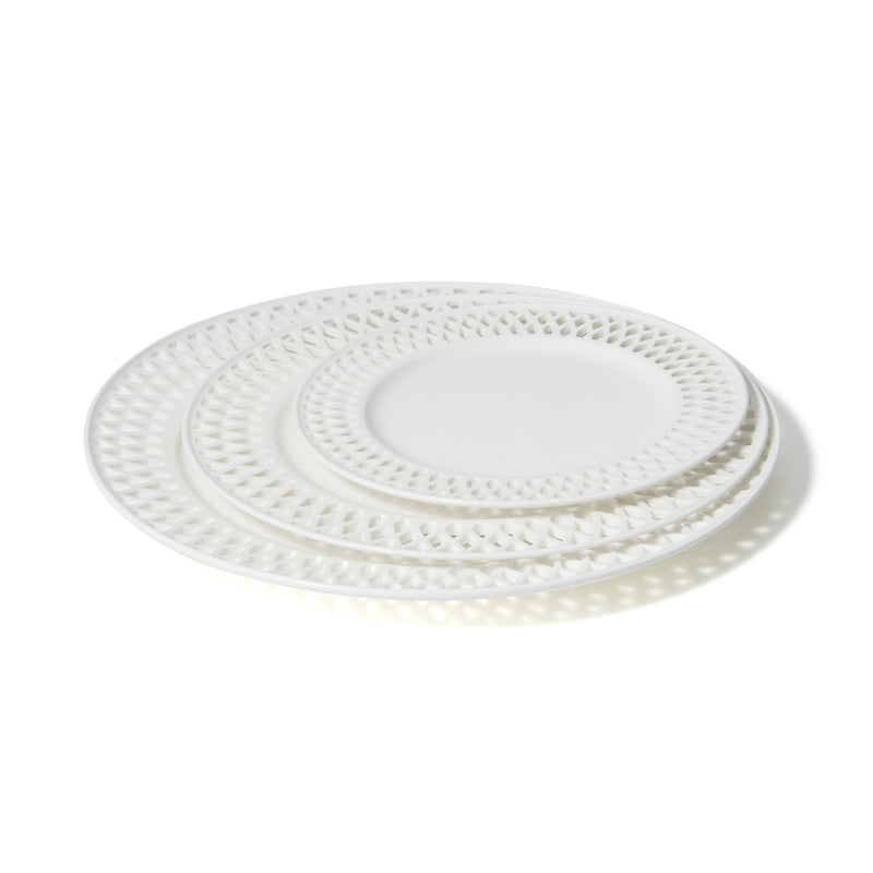 PANIER PLATE BRAID Medium White