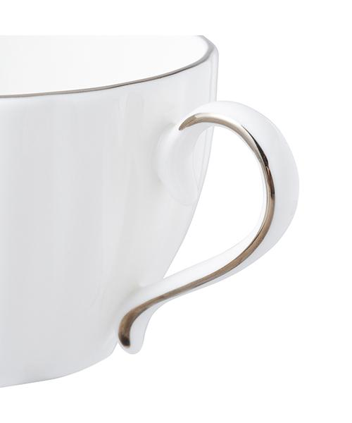 BLANC Cup & Saucer White