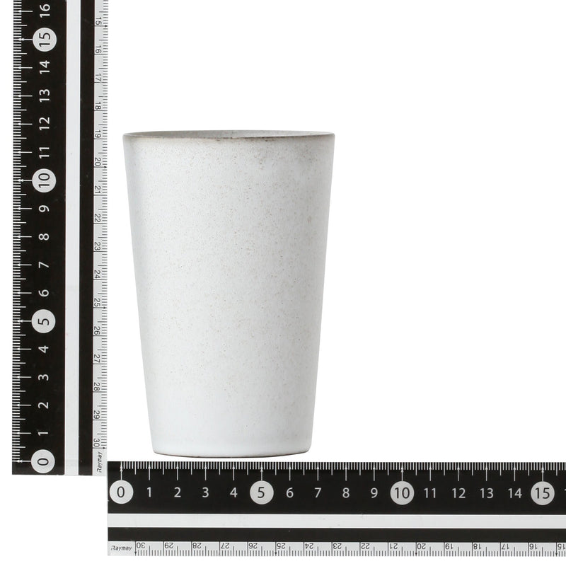 Master Recipe TUMBLER Ceramic Medium White