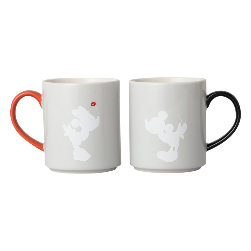 DSY Pair Mug Present Red x Black