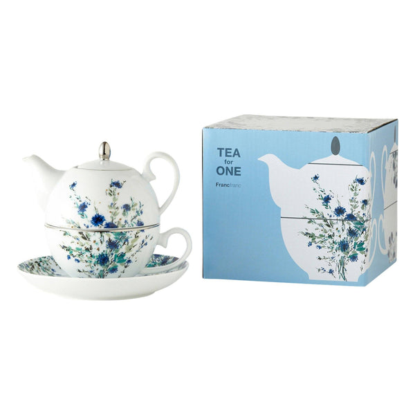 FLEURON TEA FOR ONE BLUE