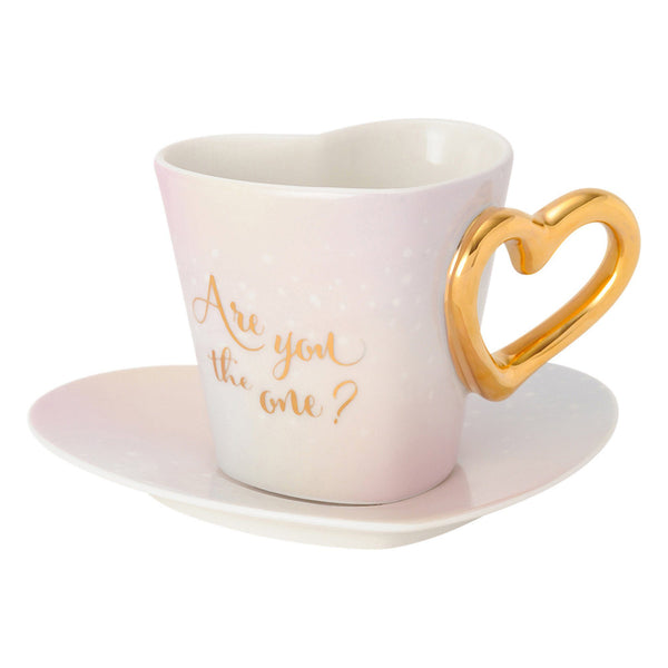 THE One Cup&Saucer Pink