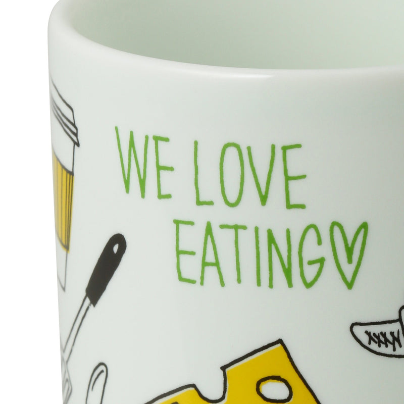FAVORITE Mug Eating