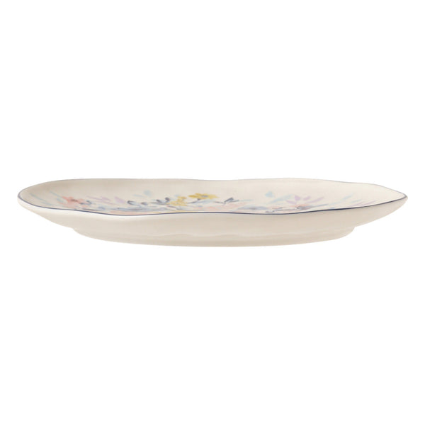 PRIMARLE PLATE MEDIUM WHITE