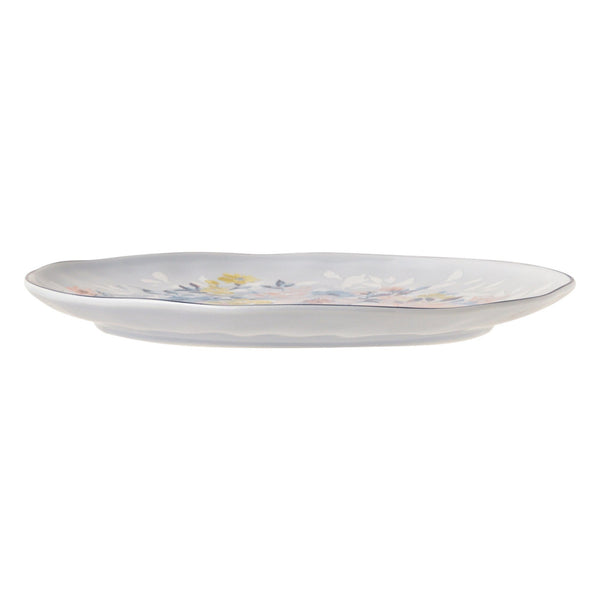 PRIMARLE PLATE MEDIUM LIGHT BLUE