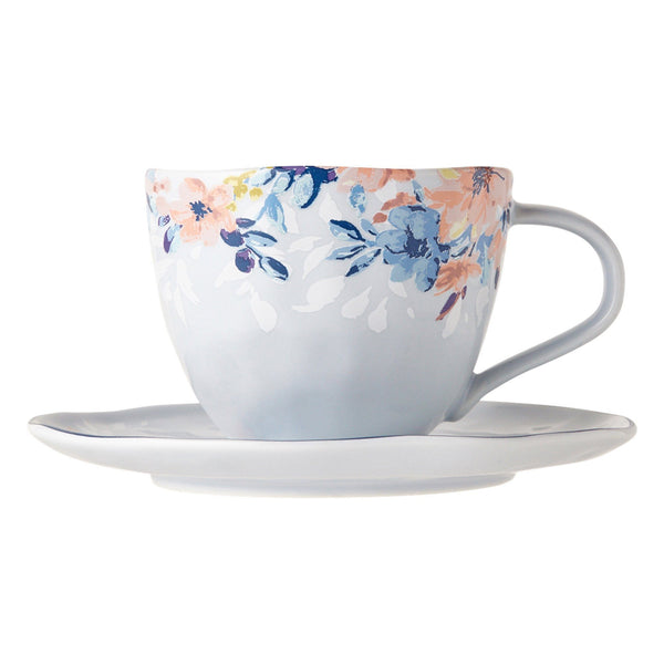 PRIMARLE CUP & SAUCER LIGHT BLUE