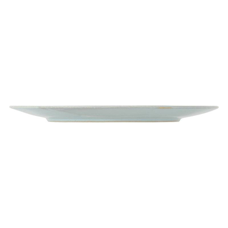 MINOYAKI IRODORI PLATE LARGE LIGHT BLUE