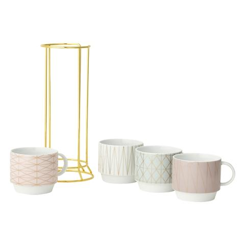TOWER Mug 4P Set Line