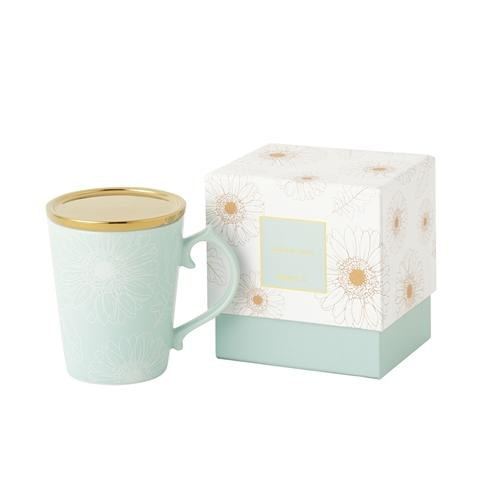 GERBERA MUG MINT GREEN