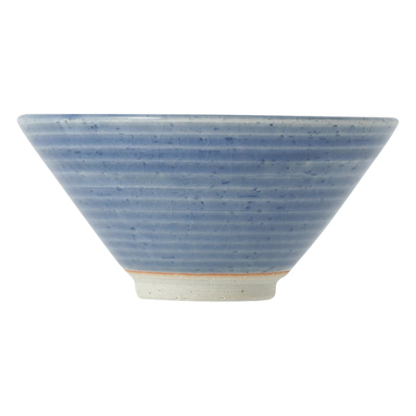 MINO Rice Bowl Glass Glaze Blue