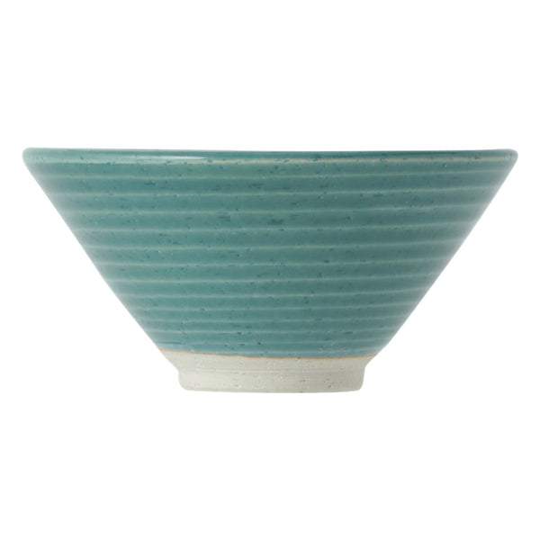 MINO Rice Bowl Glass Glaze Green