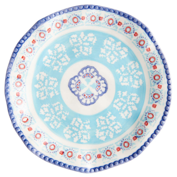 BONITA PLATE Medium  Blue x Light Blue