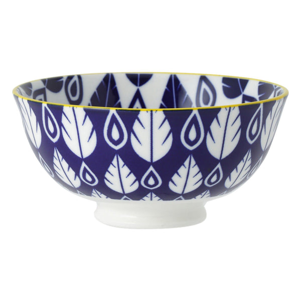 IROIRO Rice Bowl Leaf Navy