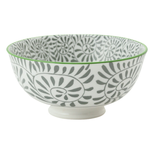 IROIRO Rice Bowl Ivy Gray