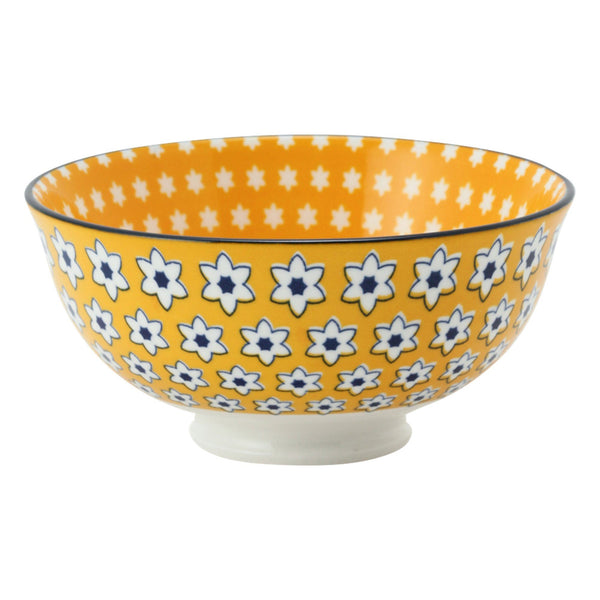 IROIRO Rice Bowl Flower Yellow