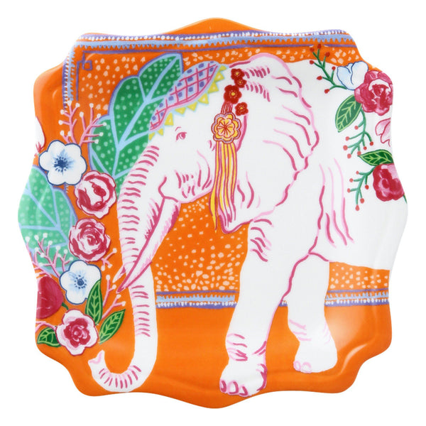 ANIMALE PLATE ELEPHANT