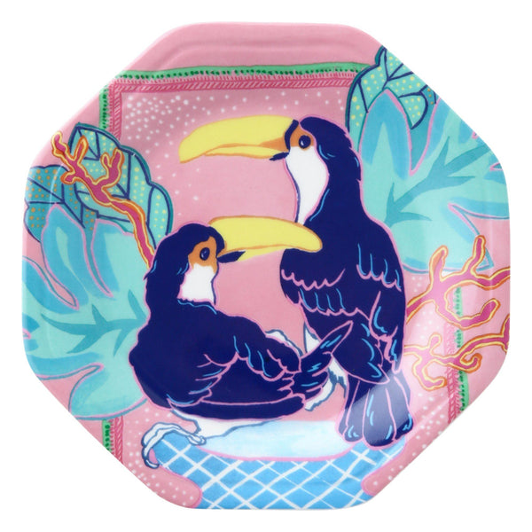 ANIMALE PLATE TOCO TOUCAN