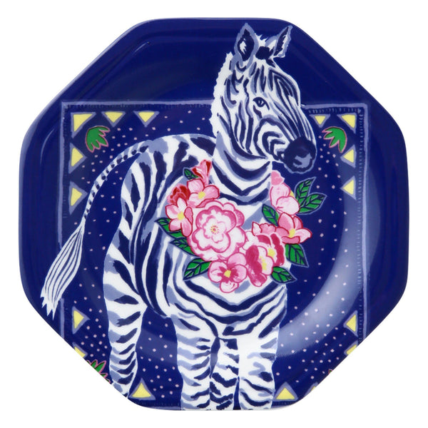 ANIMALE PLATE ZEBRA