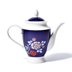ROSE Teapot Navy