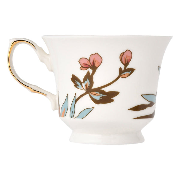 CHINOIS CUP & SAUCER White