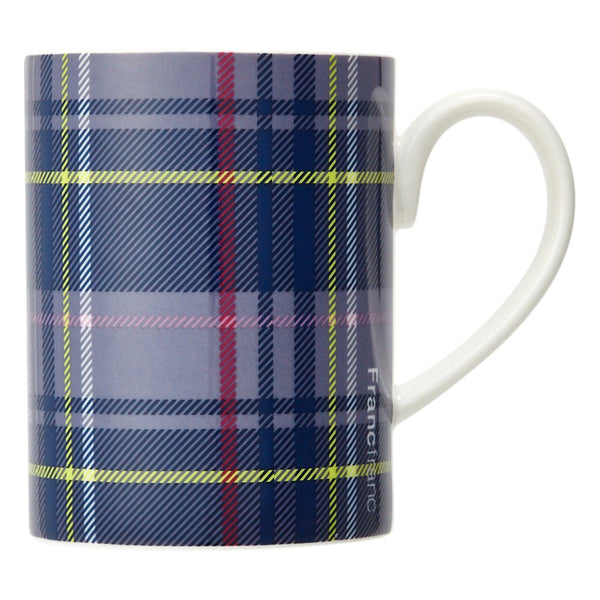MODE MUG CHECK Navy