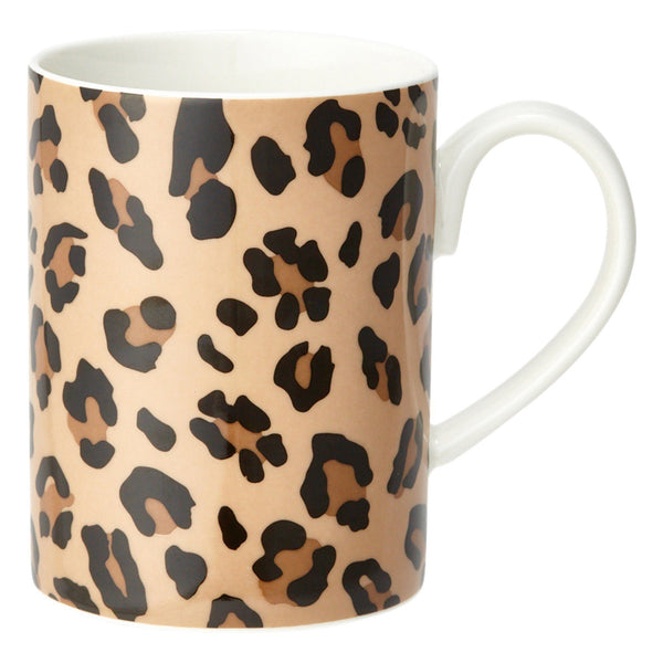 MODE MUG LEOPARD Brown