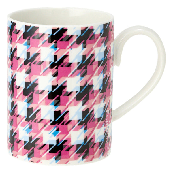 MODE MUG HOUNDSTOOTH Pink