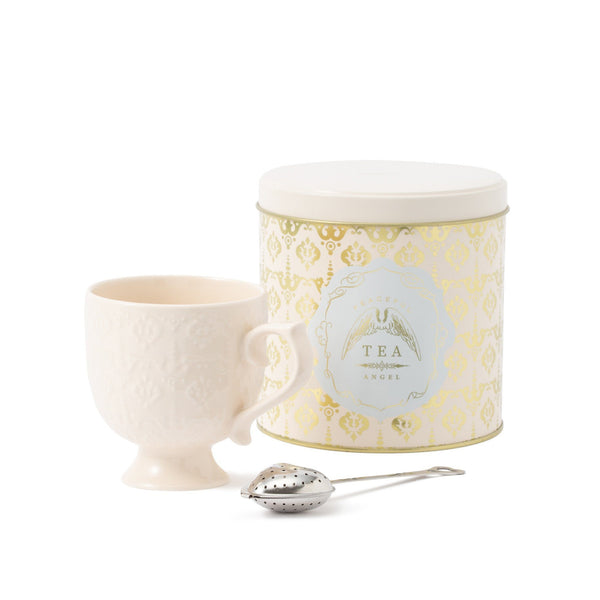 TEATIME MUG SET ANGEL White