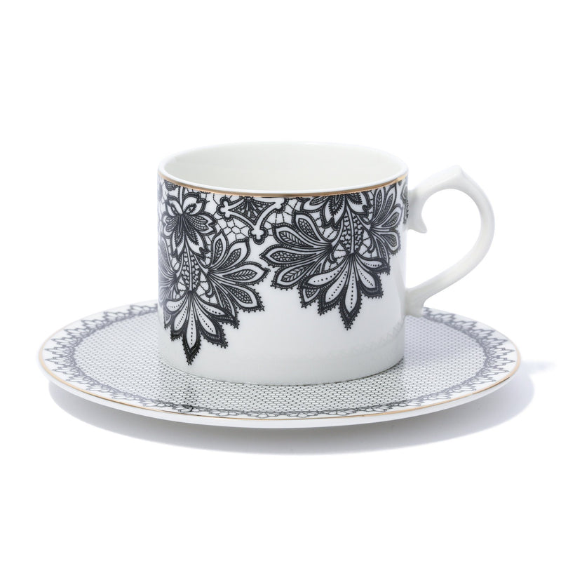 EDEL CUP & SAUCER WHITE