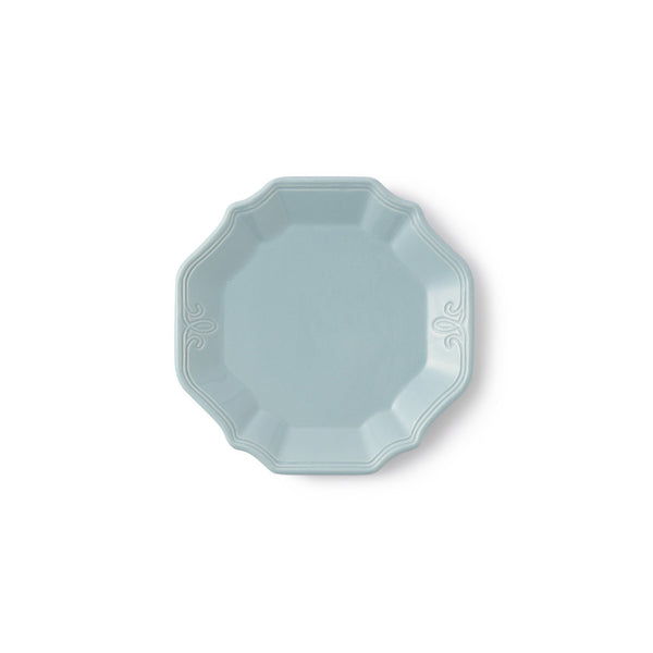 LINIE PLATE Small  BlueGray