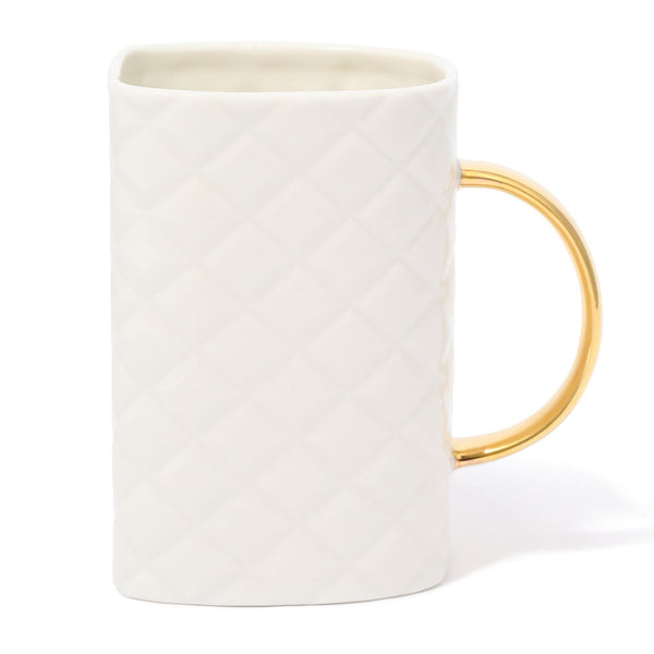 MATELASSE BAG MUG White