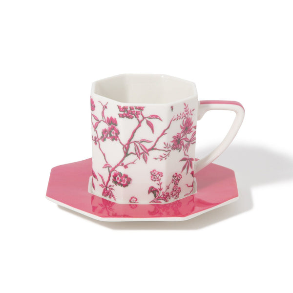 CHARMEE CUP&SAUCER Pink (Francfranc by KEITA MARUYAMA)