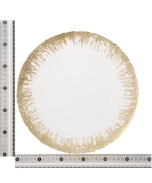 FLASH GLASS PLATE LARGE