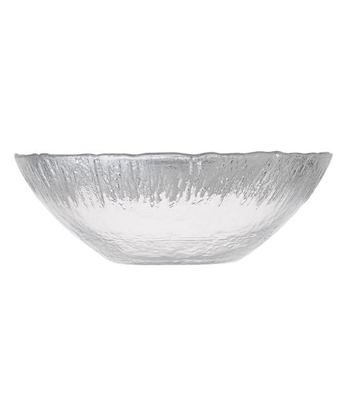 FLASH Glass Bowl Silver