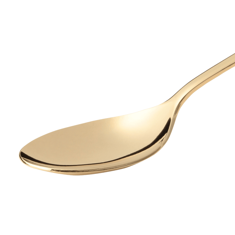ALPHABET Tea Spoon Gold M