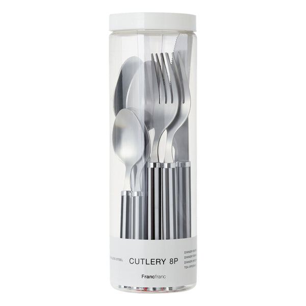 BELLE Cutlery 8P Set Stripe