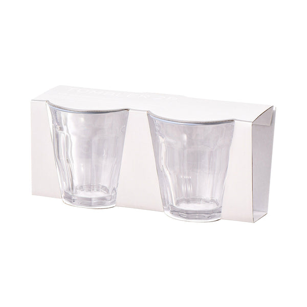 COLOR RIM TUMBLER 2P GRAY