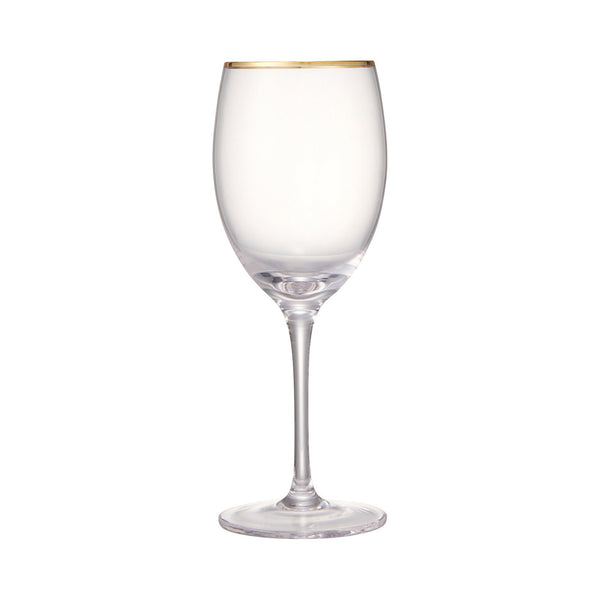RIM WINE GLASS GD