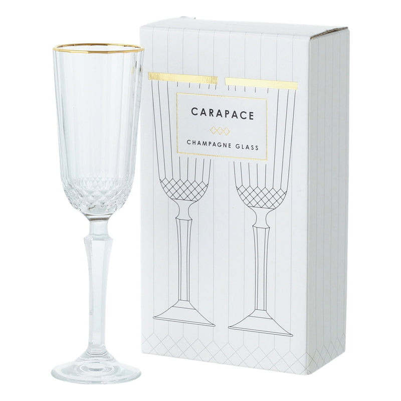 CARAPACE Champagne Glass Set