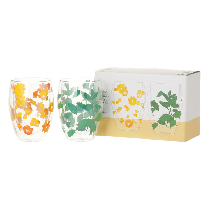 CLAIR Double Wall Glass 2P Set
