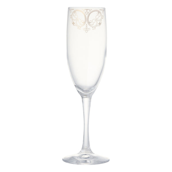 MARIEE CHAMPAGNE GLASS Gold