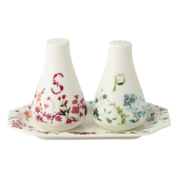 SALT & PEPPER SET FLOWER