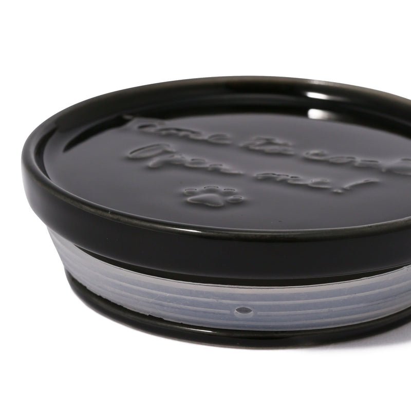 CAT CANISTER SUGAR BLACK