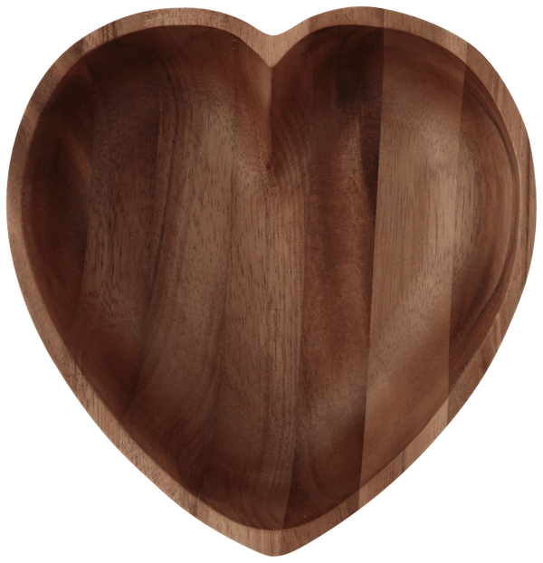 HEART BOWL ACACIA MEDIUM